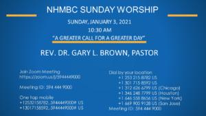 Virtual Worship Service